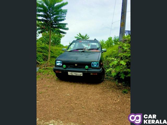 1996 model Maruti 800