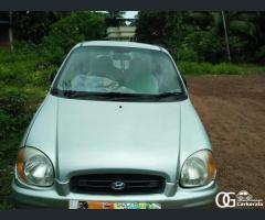 Santro zip model 2002 used car