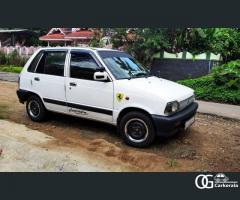 Maruthi 800 ac 2012 model used car