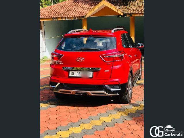 2017 creta sx+ automatic used car